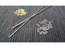 Straight Razor Washer and Pin Kit (Nickel Silver)